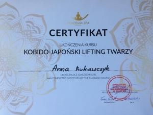 certyfikat Kobido, masaż Kobido w Zakopanem